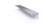 Металлические доборные элементы для фасада в Ярославле Планка П-образная/завершающая сложная 20х30