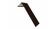 Металлические доборные элементы для фасада в Ярославле Планка лобовая/околооконная простая 190х50